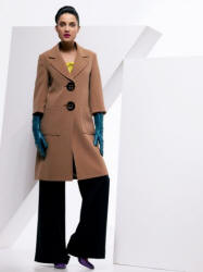 W. A Limited Edition, camel big button coat �80/�120